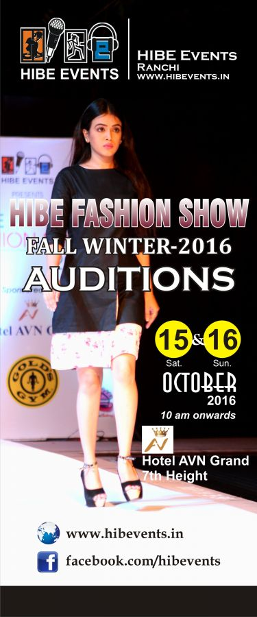 HIBE FASHION SHOW (FALLWINTER)-2016,AUDITIONS